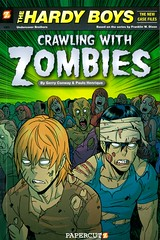 Crawling with Zombies (Vernon Barford School Library) Tags: gerryconway gerry conway paulohenrique paulo henrique franklinwdixon franklin w dixon hardyboys undercoverbrothers brothers siblings mystery mysteries mysteryfiction mysterynovels adventure adventures vernon barford library libraries new recent book books read reading reads junior high middle school vernonbarford fiction fictional novel novels paperback paperbacks softcover softcovers covers cover bookcover bookcovers comic comics graphic graphicnovel 9781597072199 cartoons