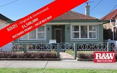 65 Dunstaffenage Street, Hurlstone Park NSW