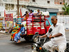 Stocked Up and Ready to Go (debra booth) Tags: 2017 grandbazaar india pondicherry pudicherry puducherry autorickshaw copyrighted wwwdebraboothcom