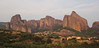 Meteora all'imbrunire (Mauro.. take a look through my eyes) Tags: gracia estate 2017 meteora kastraki kalambaka