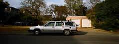Nashville (bior) Tags: xpanweek hasselbladxpanii xpan volvo nashville belmont car stationwagon street kodakcolorplus200 colorplus