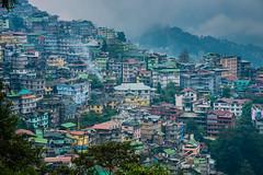 Sikkim, India (David Ducoin) Tags: asia city color gangtok gantok himalaya houses india sikkim town urbanism in
