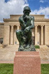 The Thinker (Adam Hagerman) Tags: photography hagerman adam frame full camera mirrorless color fe 2228 a7 sony missouri city kansas fine art museum nelsonatkins thethinker rodin