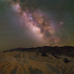 Dark Sky from Zabriskie Point, Death Valley (jezhughesphotography) Tags: night milkyway astrophotography nationalpark deathvalleynationalpark space explore zabriskipoint california summer nightphotography northamerica stardust longexposure dark deathvalley astro stars photography america galaxy usa nps