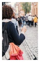 Smoker: Dublin, Ireland (ciarándoyne) Tags: dublin ireland irish city citylife life candid streetphotography streetphotos streetlife street fuji fujix fujixseries fujixt20 fujiphotographer xt20 xseries xphotographer nikon 50mm nikon50mm 50f18 prime lens nifty fifty adapter smoker smoking hand