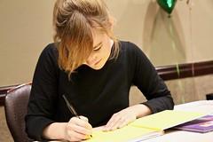Linda Liukas Signing Books