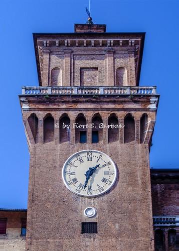 Ferrara (FE), 2017, Il Castello Estense.