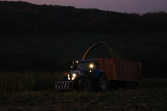 Corn Silage (Winiarsky) Tags: corn silage new holland t7220 john deere 7300 poland maize agriculture