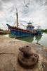 Tok Bali (Md Farhan's Gallery) Tags: sky fisherman tokbali kelantan malaysia boat ship lensamalaya landscape nationalgeographic fujifilm fujinon xt1 xf1024mm cloud beach river