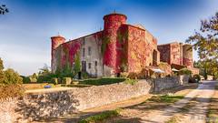 Château de Villarlong (Aude-France) (Shoot Enraw) Tags: architecture histoire châteaudevillarlong aude chapelleixèmesiècle villarzelcabardès jardins parcs