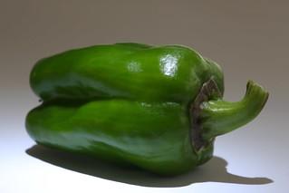 unripe red mini pepper