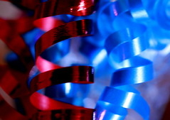 Decorative Ribbons (acwills2014) Tags: macromondays spiral decorative ribbons slik shiny glitzy macro spirals