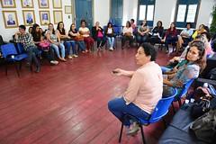 Roda de conversa com profissionais de saude, de Itaboraí, sobre prevenção de cancer de mama (4) (itaborairj) Tags: roda conversa saúde câncer mama 23102017