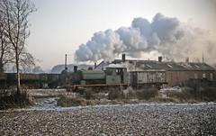 Cranford 0-6-0ST no 24 shunting (TrainsandTravel) Tags: england angleterre standardgauge steamtrains voienormale trainsavapeur dampfzug normalspur industrialrailway ironstone chemindeferindustriel pierredefer industriebahn eisenstein northamptonshire cranford 060st