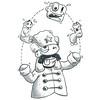 Tetris (Question Josh? - SB/DSK) Tags: ink inktober marker pen cartoon tetris russian juggling sketch doodle drawing