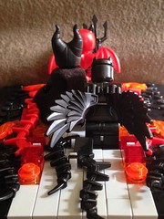 Followers (David$19) Tags: lego halloween devil demons fire hell spooky creepy weird moc