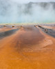 Grand Prismatic Spring in the Steam (dan.weisz) Tags: yellowstone yellowstonepark thermal grandprismaticspring