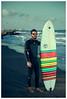 The surfer (paulfotografo) Tags: surf surfer surfinboard sea beach sunset valencia spain beard men sunglasses hawkers paulpetrut