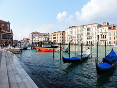 Grand Canal seen from Campo della Salute, Venice