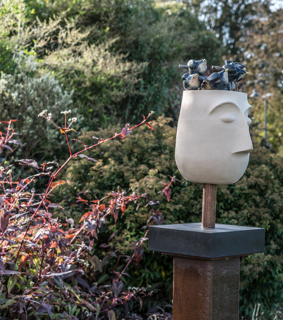 LAST WEEK OF THE SCULPTURE IN CONTEXT 2017 EXHIBITION [PHOTOGRAPHED THE DAY AFTER STORM OPHELIA]-133383