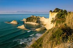 Kap Drastis-Korfu (highflyer1964) Tags: korfu griechenland sonyilce coastline landscape landschaft fe1635mmf4zaoss goldenhour sonyalpha7m2 küste meer goldenestunde ilce7m2 himmel insel sonyilce7m2