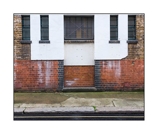 A Doorway That Never Was, South East London, England.