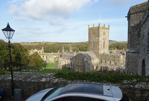 St David's Cathedral from our place