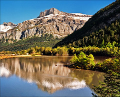Derborence-lake (Katarina 2353) Tags: landscape autumn lake derborence switzerland swiss alps katarina2353 katarinastefanovic