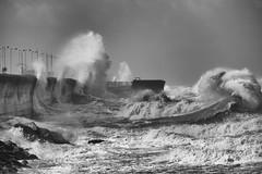 Power (Mark Boadey) Tags: lighthouse crashing storm perch waves brian crash rock fort