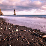 The black sand beach - Iceland - Travel photography thumbnail