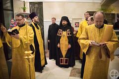 Всенощное бдение в канун Недели 21-й по Пятидесятнице