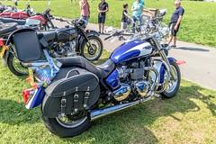 Triumph America (John Tif) Tags: 2017 crystalpalace triumphamerica car motorbike motorspot