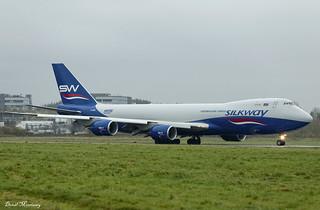 Silkway West Airlines 747-8F VQ-BBM