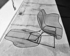 Shadow chair (TPStearns) Tags: monochrome film pentax67 55mm ektar100