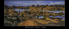 Watson Lake (vonhoheneck) Tags: watsonlake arizona reservoir granitecreek prescott cityofprescott schölkopf schoelkopf canon eos6d usa see wasserreservoir felsen granit