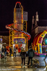 Chipping Sodbury Mop Fair 2017-2 (PapaPiper) Tags: chippingsodbury mopfair gloucestershire england unitedkingdom tradition nightscape night nightscene nighttime fairground helterskelter