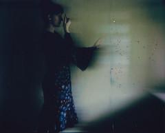 "from the ""dwell"" series (Lisa Toboz) Tags: polaroidoriginals polaroid selfportrait dwell spiritphotography mixedmedia glitter f101motionfilter spectrasystem ephemeral"