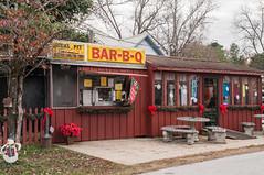 Bar-B-Q (jwcjr) Tags: barbecue barbecuewarmspringsga warmspringsgeorgia meriwethercountyga sign smalltown smalltownga pentax