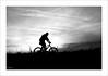 Ombre à vélo (P@ti16) Tags: noiretblanc vélo ombrechinoise canon70d canon1022mm france bébé