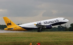 G-ZBAP Airbus A320-214 Monarch Airlines (R.K.C. Photography) Tags: gzbap airbus a320214 a320 monarchairlines zb mon british aircraft airliners aviation luton bedfordshire england unitedkingdom uk londonlutonairport ltn eggw canoneos100d