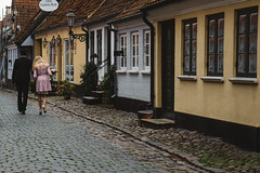 In the streets of Ærø (A.Dissing) Tags: street ærø largest island denmark couple love flowers married fun adventure house yellow blue villages village sony a7ii anders dissing fall dark contrast a7 perfect happy
