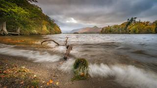Rough waters....Derwent.