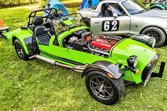 Caterham 7 Supersport in the Paddock (John Tif) Tags: 2017 caterham7supersport crystalpalace car motorspot