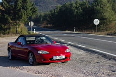 (Blaž Zagorec) Tags: mazda mx5 mx roadster cabrio convertible red black 18 1840 vvt croatia road miata sparco nb nbfl mk2 mk25 nb8 front headlights normally aspirated mazdamiata mazdaroadster drop top eunos engine car cars auto automobile jdm wheels rims 16 sport svt i4 inline four outdoor canon 550d 50mm stm mountains velebit daily dailydriver driver longlivetheroadster mx5club zoomzoom jap carlife rwd mazdaspeed clean lowered coilovers bilstein b14 6speed savethemanuals gripmiata import