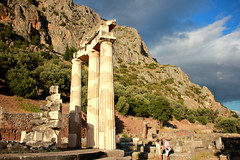 Tholos of Delphi (ika_pol) Tags: unesco unescogreece worldheritage greece delphi ancient ancientgreece ancientruins ancientarchitecture antiquity parnassusmountains parnassus mountains tholos delphitholos