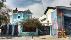 """Esquina"" (atempviatja) Tags: pintura casas color bellavista barrio barriobellavista esquina"