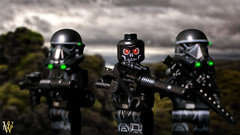 Troopers of Death (Dread Pirate Wesley) Tags: lego minifig star wars death troopers halloween 2017 rogue one