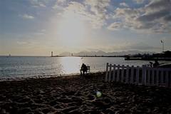 IMG_1987 (Hello Baton Rouge) Tags: people placeofinterest beach seascape sea seafront sunset cannesfrance cannes alpesmaritimes côtedazur france frenchriviera provencealpescôtedazur clouds cloud