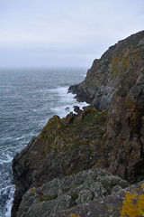 Cliffs in the Gale (PLawston) Tags: uk britain scotland dumfries rhins galloway mull cliffs rocks gale sea