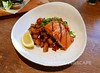 Grilled salmon, roasted potato hash (Vancouverscape.com) Tags: 2017 prospectpoint stanleypark vancouver dining